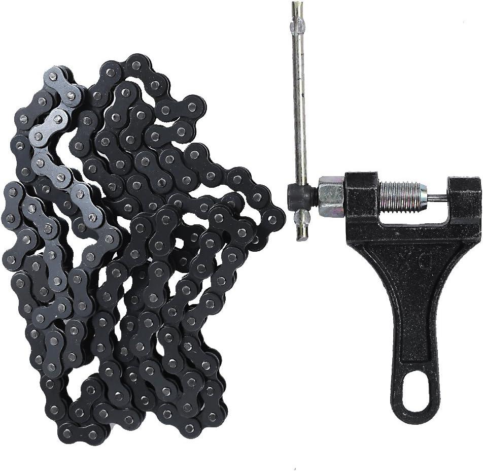420 132L Standard Roller Chain + 132 Breake New sales Link Max 73% OFF