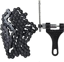420 132L Standard Roller Chain 420 Chain 132 Link + Chain Breaker for 110cc 125cc Dirt Pit Bike Motorcycle Quad TaoTao ATV
