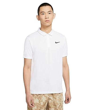 Nike Nike Court Dry Victory Polo (White/Black) Men
