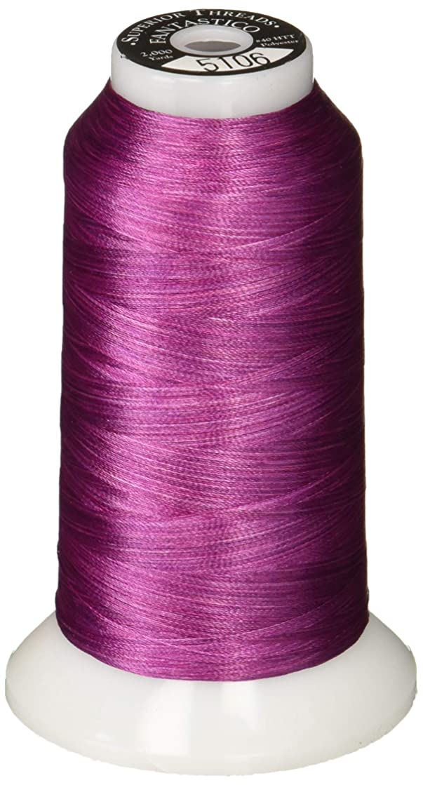 Superior Threads 11702-5106 Fantastico Variegated Trilobal Polyester 2000yd Turkish Delight Thread,