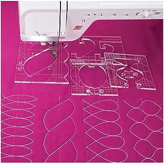 EXCEART Strumenti per Cucire 4 Stili Cucire Misura Misura Righello Metrica Curva Francese per Cucire Abbigliamento Fai da Te Sartoria