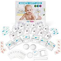 12-Pack Eco-Baby Child Safety Magnetic Cabinet and Drawer Locks