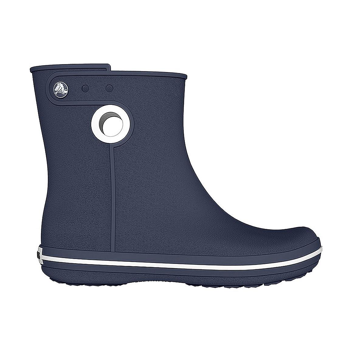小康マーガレットミッチェル洗う[Crocs] (クロックス) レディース ウィメンズ クロックバンド ジョーント ショートブーツ 婦人靴 長靴 レインブーツ 女性用 (4 UK) (ネイビー)