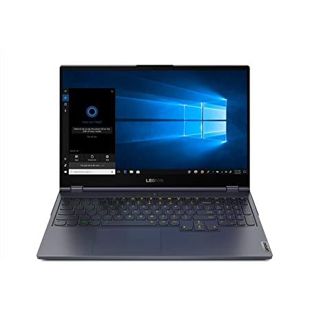 "Lenovo Legion 7 - Portátil Gaming 15.6"" FullHD 240 Hz (Intel Core i7-10750H, 16GB RAM, 512GB SSD, GeForce RTX 2070 Max-Q 8GB, Sin Sistema Operativo), Gris - Teclado QWERTY español"