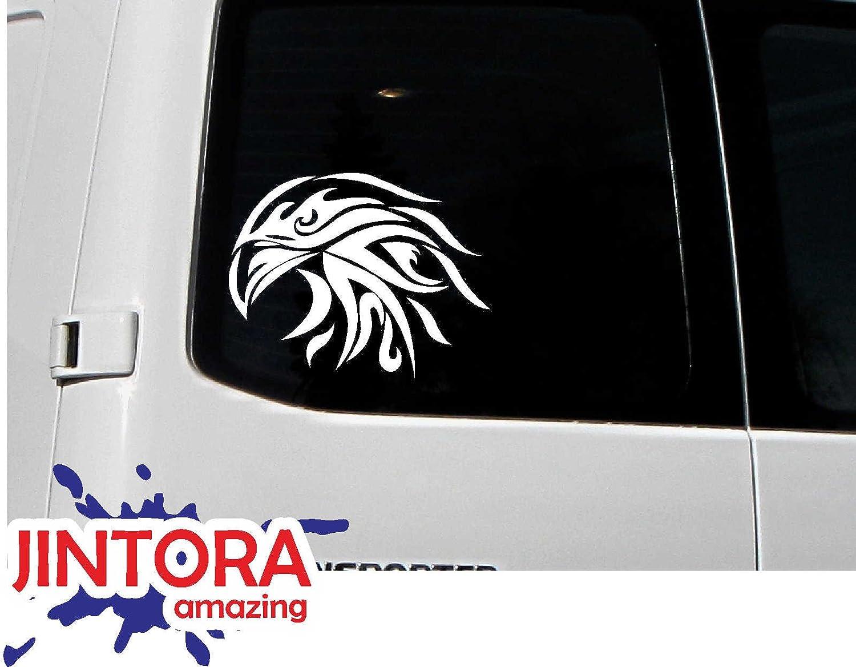 88x93mm Running Horse Adesive da Auto Die Cut JINTORA Sticker Adesivo JDM Verde