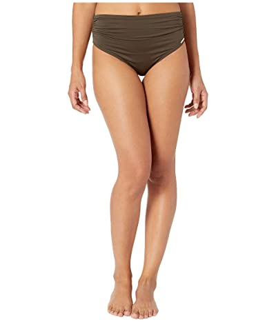 Vince Camuto Surf Shades Convertible High-Waist Bikini Bottoms (Bonsai) Women