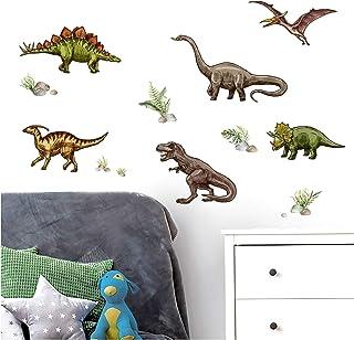 Wandtattoo Wandaufkleber Aufkleber Dino Drache T Rex Dinosaurier Kinder 19
