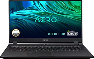 "GIGABYTE AERO 17 HDR XD - 17.3"" UHD 4k IPS Anti-Glare, Intel Core i7, NVIDIA GeForce RTX 3070 Laptop GPU 8GB GDDR6, 16GB R..."