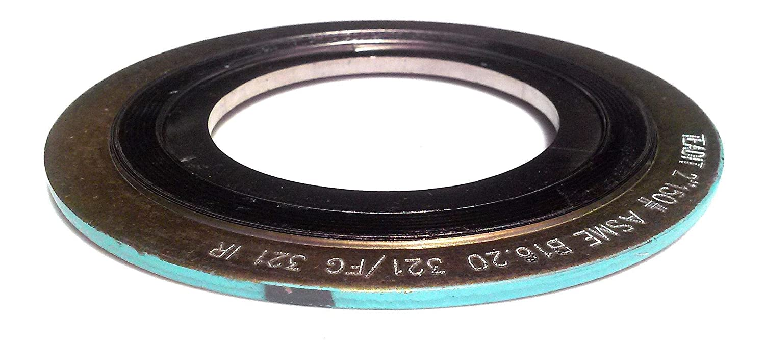 Tulsa Mall Sur-Seal Now free shipping Inc. Teadit 9000IR12321GR400 Wound Gasket With Spiral