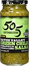 product image for 505 Southwestern Hatch Valley Green Chile Salsa (Tomatillo, Garlic and Lime) (16 Ounces) - PACK OF 3