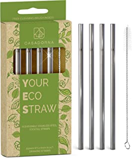 Stainless Steel Reusable Drinking Straws 6