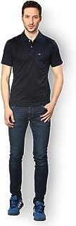 UV&W Men's Organic Casual Solid Polo T-Shirts