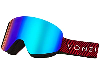 VonZipper Encore Goggle (Black Satin/Wild Quasar Chrome) Goggles