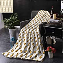 Kenneth Camilla Luxury Throw Blanket Car,Cartoon Style Automobiles Transportation Theme Vehicles for Boys Kids Nursery,Marigold Brown Black,Cozy Plush Microfiber Blankets for Sofa Couch Bed 50
