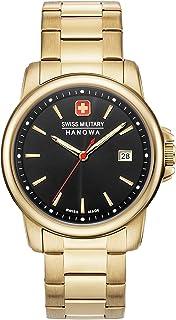 Swiss Military Hanowa - Reloj Analógico para Unisex Adultos de Cuarzo con Correa en Acero Inoxidable 06-5230.7.02.007
