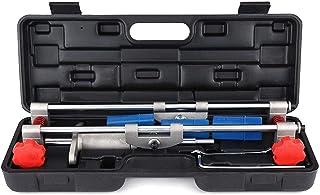 Dörrlås Håls Montering Jig lådor Kit, 3 Cutters dörrlås Håls Montering Jig lådor Kit med Skiftnyckel Renovering Tool