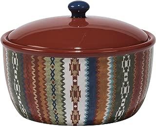 Certified International Monterrey Bean Pot, 80 oz, Multicolor