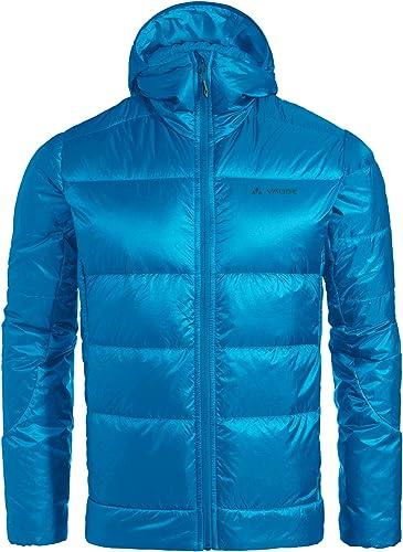 VAUDE Men's Kabru Hooded Jacket III Veste Doudoune en Duvet Naturel pour Les Sports de Montagne   légère   Compressible   Fabrication écologique Homme