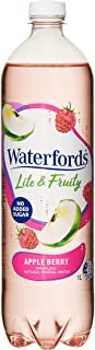 Waterfords Lite and Fruity Mineral Water, Apple Berry, 12 x 1L