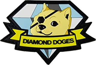 Metal Gear Solid Diamond Doges Patch by Snake Hound Machine