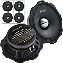 """4 Pack American Bass Godfather 8"""" Mid Range Car Speaker 800 Watts Max GF-8 L-MR photo"""