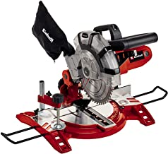 Einhell 4300295 TC-MS 2112 - Ingletadora, corte transversal, 1600 W, 230 V, rojo