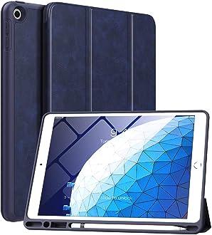 TiMOVO iPad Mini 5 2019(7.9 Prima PU Cuero Funda Bolsa de Transporte Sleeve Pouch Cover 5th Generation /& iPad Air 2019(10.5 Bandera Americana 3rd Generation para Apple Pencil Holder Funda