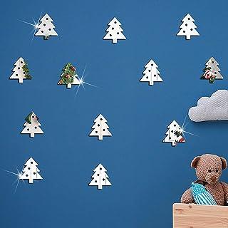 Woohooens Vinilo Ventana Pegatinas de Pared Navidad la Decoración del Hogar Navidad Etiqueta de Papel Adhesivo Decorar Las...
