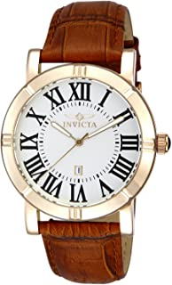 Invicta Men's 13971 Specialty Gold-Tone Stainless Steel Watch with 2 Additional Straps
