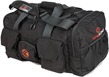 "King Kong Original Nylon Gym Bag - Heavy Duty and Water-Resistant Duffle Bag - Military Spec Nylon- Heavy Duty Steel Buckles - 20"" x 12"" x 12"""