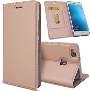 HKKAIS Xiaomi Redmi Note 5 Case, Wallet Folio Case Flip Cover with Stand and ID Credit Card Slot Magnetic Closure Cover for Xiaomi Redmi Note 5