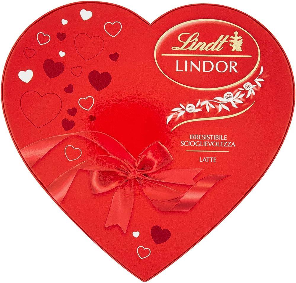 Lindt,scatola cuore lindor ,san valentino