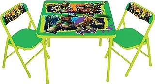 Teenage Mutant Ninja Turtles Maxin & Shellaxin Erasable Activity Table Set and 2 chairs
