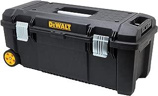 Portable Tool Box, 88lb, 11-45/64in.H, Blk