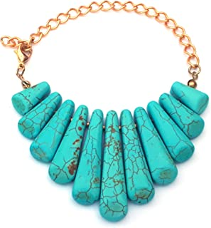 Alwan Turquoise Bracelet for Women - EE8302B