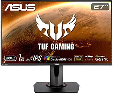 Product Image Asus TUF Gaming VG279QM, 27 Zoll Fast-IPS, Full-HD, bis 280Hz