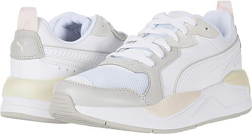 Puma White/Gray/Violet/Rosewater/Whisper White