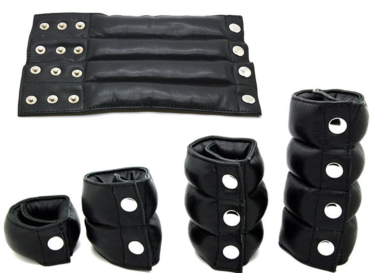 TheChainGang Leather Ball Stretcher Weight, Comfortable Ball Weights Ball Stretchers vhd640894574718