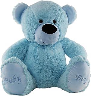 Jelly Teddy Bear Soft Plush Toy, Blue, 60 Centimeters
