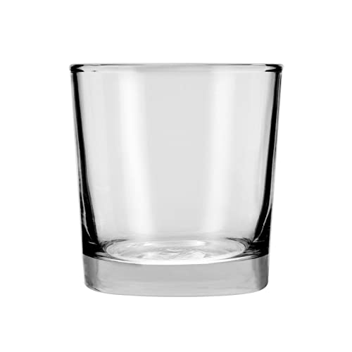 Anchor Hocking 9-oz Heavy Base Rocks Old Fashioned Whiskey Glasses, Set of 12
