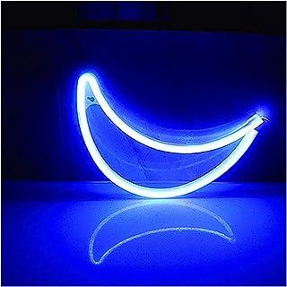 Accueil Moon Neon Lights, Moon Night Lights LED Moon Neon Lights Décoration Lumières Chargement USB Utilisé Pour Les Fourn...