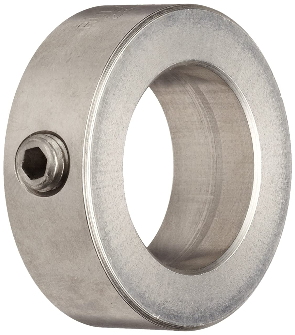 Ruland MSC-16-SS Set Screw Shaft Collar, Stainless Steel, Metric, 16mm Bore, 28mm OD, 12mm Width (Pack of 2)