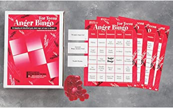 Anger Bingo for Teens: An Engaging and Educational Game About Anger and Ways to Manage It
