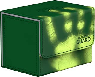 Ultimate Guard Deck Box: Sidewinder 80+ Chromia Skin Green