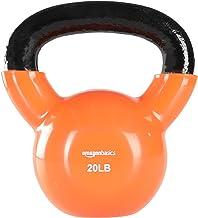 Amazon Basics Vinyl Kettlebell - 9,1 kg (9,1 kg), Oranje
