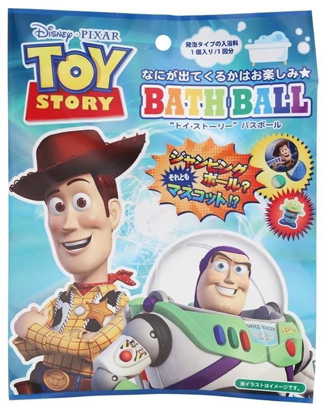 充電アボートきらめくディズニー 入浴剤 トイストーリーバスボール おまけ付き DIP-80-01
