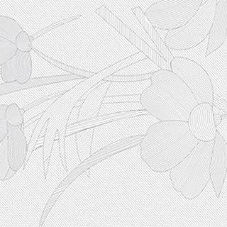 Lush Flowers-Self-Adhesive Embossed Window Film Home Decor(Sample)