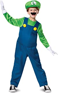 Disguise Nintendo Luigi Deluxe Boys' Costume