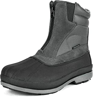 NORTIV 8 Men's 170410 Waterproof Winter Snow Boots