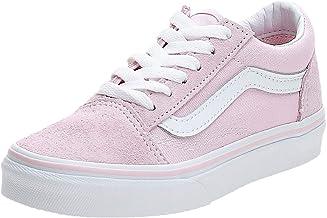 dark pink slip on vans